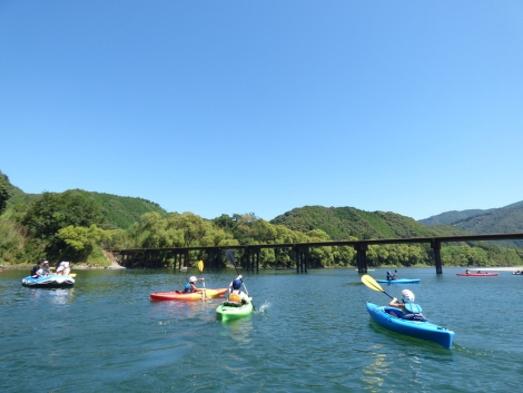 『四万十川をカヌーで川下り体験』付宿泊プラン
