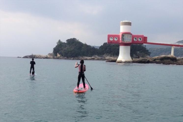 竜串湾!海域公園でSUPツーリング
