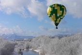 熱気球冬期間