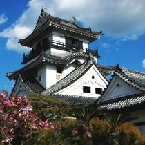 【周辺観光】高知城まで当館から車で約8分