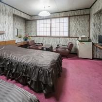 【お部屋】街側 洋室・ツインルーム☆Wi-Fi接続無料