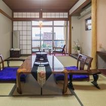 【お部屋】川側 和室(8畳~10畳)★Wi-Fi接続無料