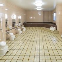 【お風呂】男性大浴場/疲れをゆっくり癒してください。