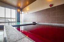 男性浴場一例~ジョットバス&ワイン風呂にて~