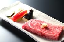 甲州牛のステーキ【別注料理】