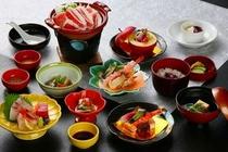 お昼のミニ会席料理(一例)