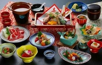 お祝い用会席料理(宮参り、七五三用)※一例
