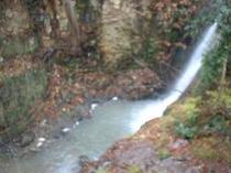 湯滝の滝壷