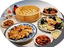 ヘルシーな創作中華料理
