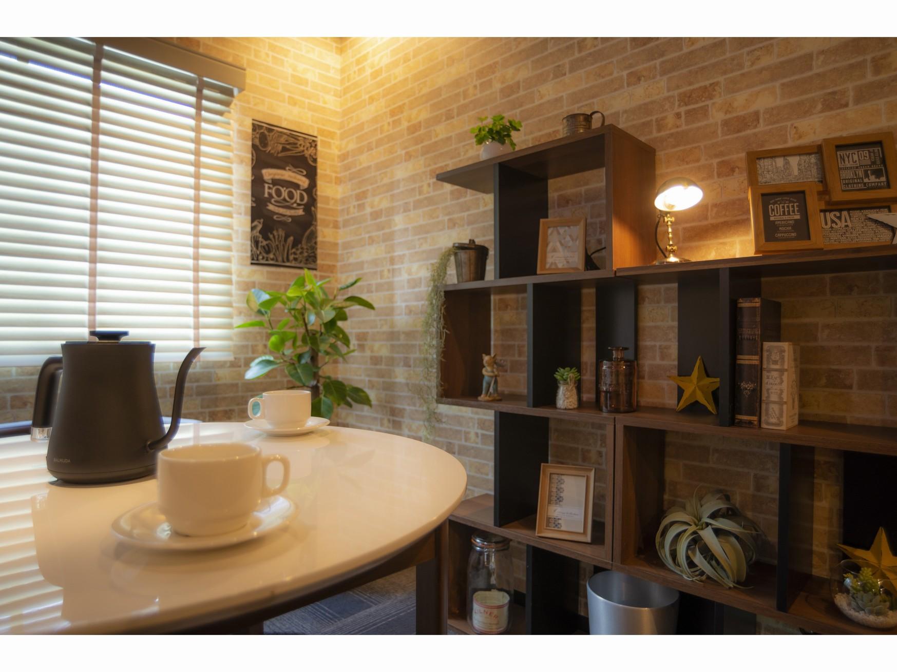 カフェコーナーのある部屋(4)