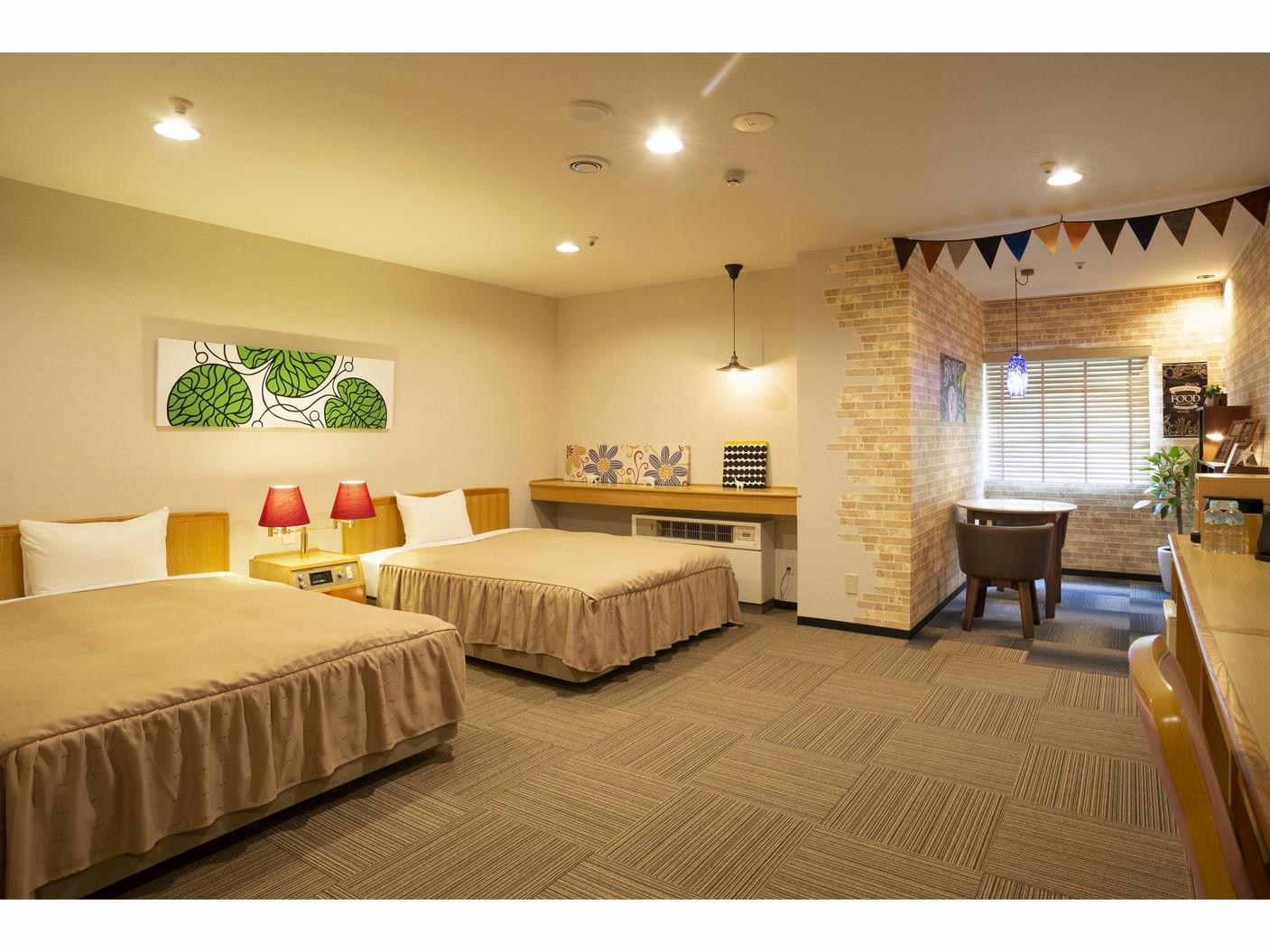 カフェコーナーのある部屋(2)