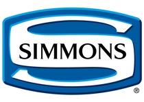 ベッドはシモンズ。世界の高級ベッドは「3つのS」と言われる。シモンズ、シーリー、サータ。