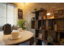 カフェコーナーのある部屋④
