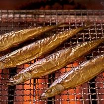 食べ応えのある「秋刀魚一本焼」を焼き立てでご提供