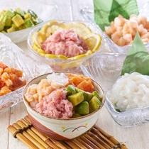 大江戸温泉グループで大人気「のっけ丼」