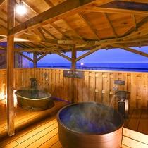 「日本海」男性露天風呂