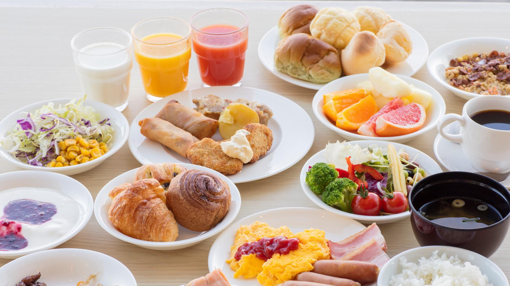 【朝食マルスコイバイキング】料理イメージ