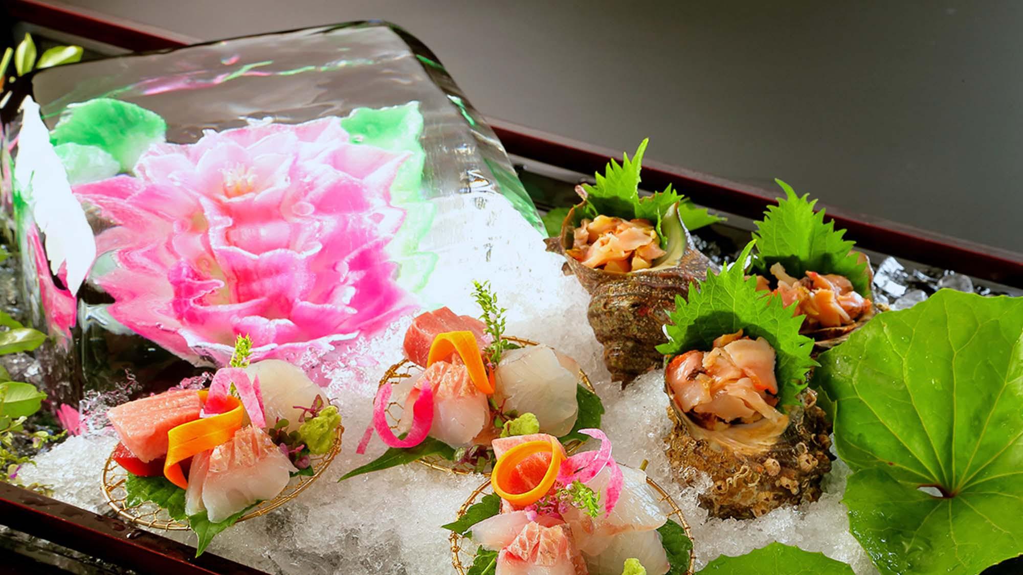 旬魚の氷柱花盛り 極※イメージ