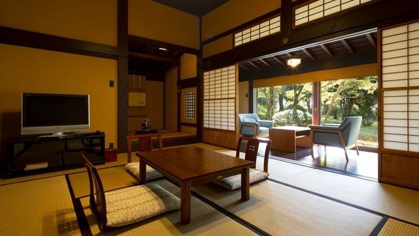 【伝統の日本建築美が香る】 和室