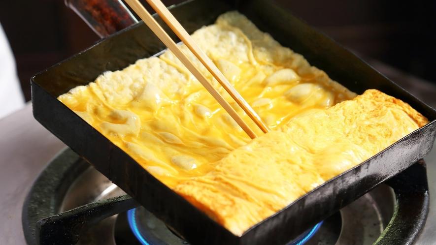 出来立てたまご料理がおすすめ!朝食和洋ブッフェ ※料理一例