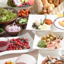 ◇朝食◇100種類以上が並ぶ自慢の朝食。お客様の声は是非クチコミでご確認ください。