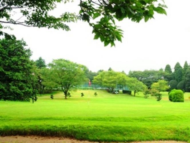 ミニゴルフ練習場