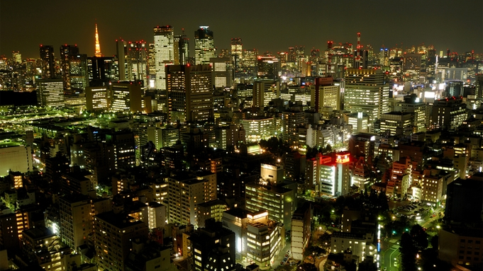 【東京タワービュー確約!!】お部屋で夜景を満喫しながらまったりステイプラン(朝食付き)