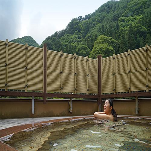 露天風呂・昼(杜の湯)