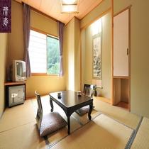 和室6畳または8畳のお部屋