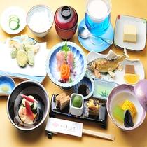 リーズナブル会席(ご夕食)※写真はイメージです。