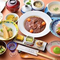 スタンダード夕食(*画像は一例です)