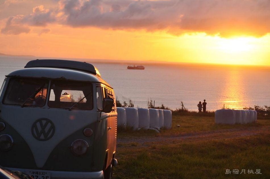 ワーゲンバスと夕焼けツアー