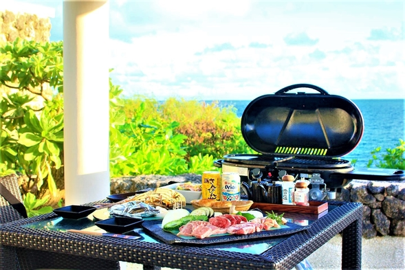 ◆タイムセール◆選べるコースディナー&BBQでお得に優雅な滞在を/朝食付