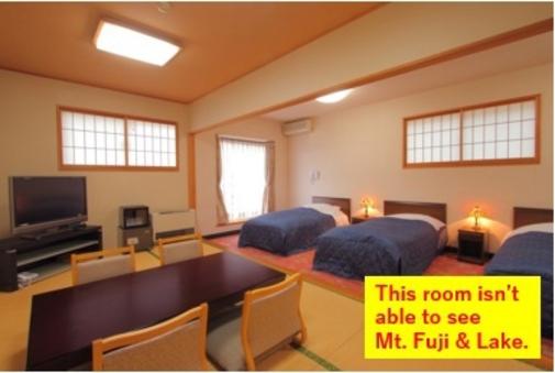 [ベッド3+和室8畳] 和洋室(※富士山/眺望ナシ)