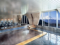 富士山・河口湖展望 風呂(7F)