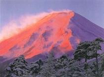 富士山赤富士(1月)
