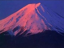 冬季の富士