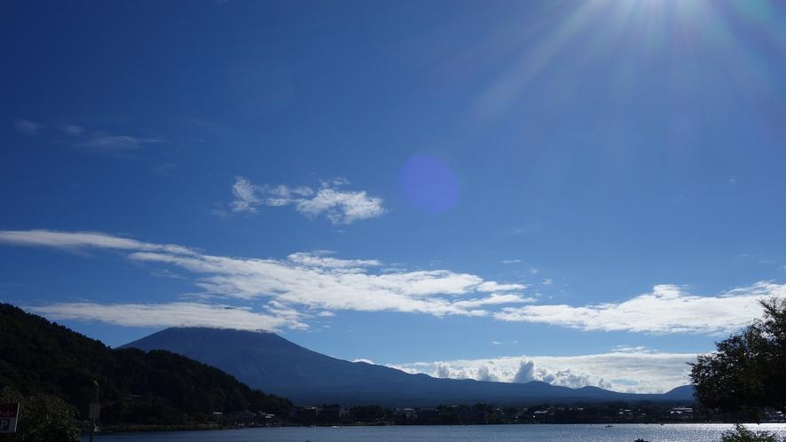 2021年09月19日の富士山