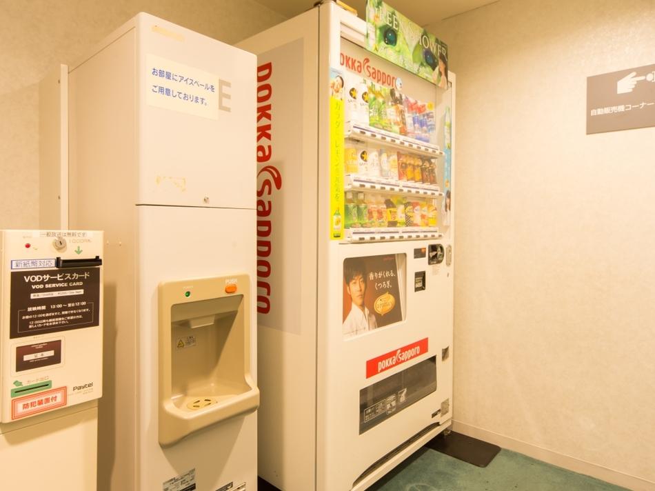2階〜9階自販機コーナー