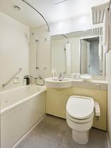 ユニットバス 快適な宿泊をサポートする種類豊富なアメニティをご用意しております。