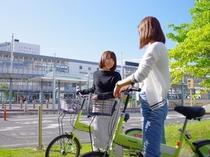 岡山市コミュニティサイクル「ももちゃり」