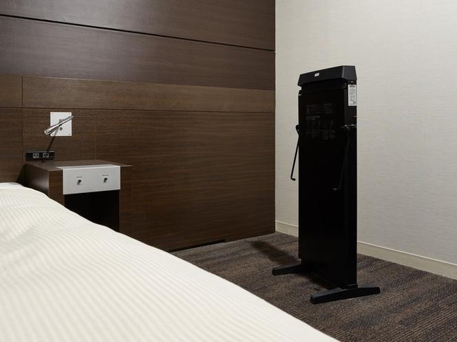 ズボンプレッサーは、シングルAを除くすべてのお部屋にご用意しております。