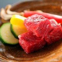■信州産国産牛陶板焼き アップ