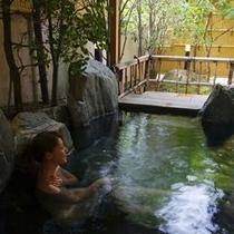 □岩 露天風呂