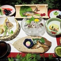 【夕食一例】季節の和食膳