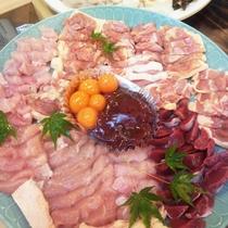 【夕食一例】丹波赤地鶏すき焼き