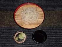 夕食例(そば)