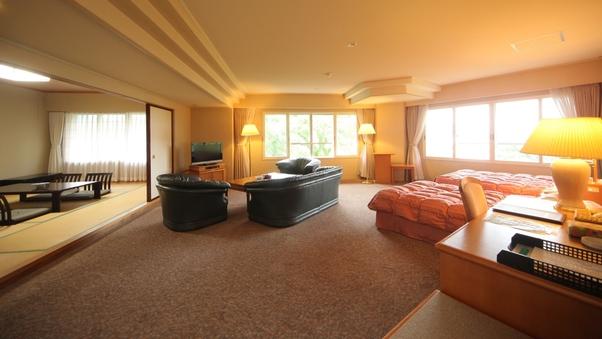 禁煙 【特別室】 和室8畳〜10畳+ツインベット