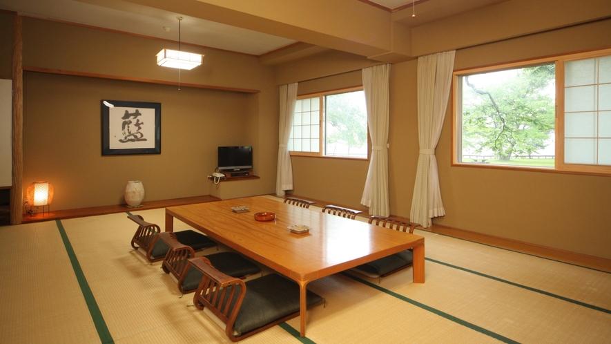 和室17.5畳の一例