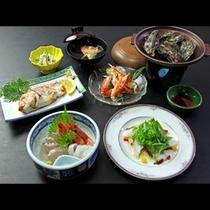 牡蠣の海鮮コース☆